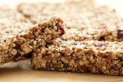Vegan and Gluten free Granola Bars.