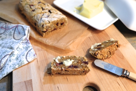 Sweet potato gluten free multi seed bread